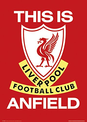 Liverpool Poster Print, 24x36 Poster Print, - Anfield Poster