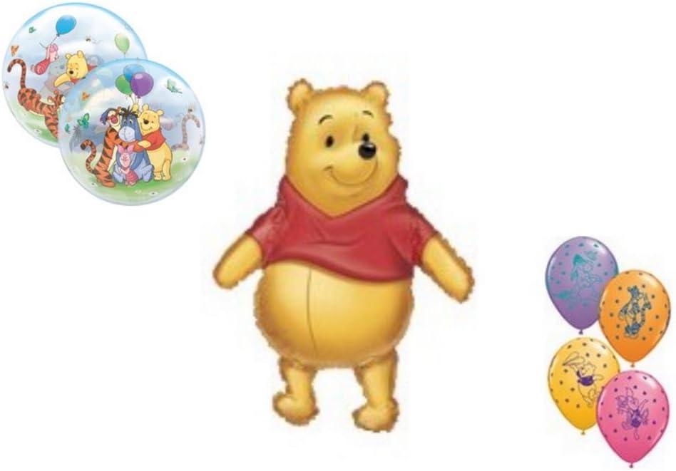 "31"" Large Winnie The Pooh Balloon Birthday Party Decoration Cartoon"