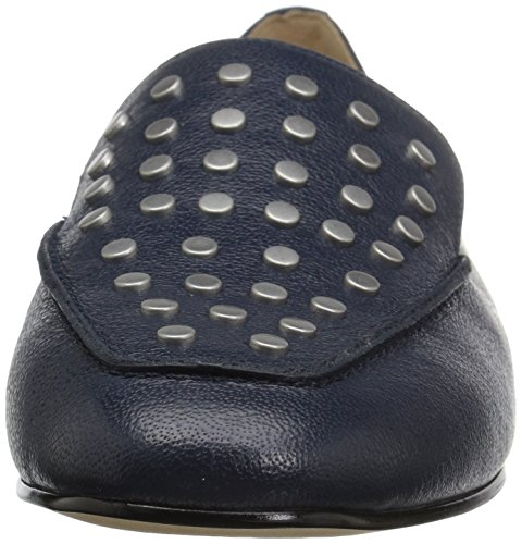 The Fix Women's Dakoda Silver Head Stud Loafer Flat Navy Leather sale sale online free shipping low cost buy cheap Inexpensive uiG6s1Ce