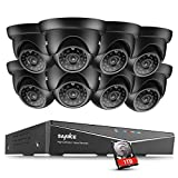 SANNCE 8CH 1080N HD TVI Video Surveillance Security System CCTV DVR 1TB Hard Drive + 8 Indoor/Outdoor 1.0MP 1280TVL Weatherproof Surveillance Security Camera System,Motion Detect, Free APP Review