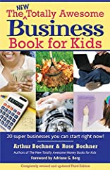 This fun and fact-filled classic, fully updated, is packed with cartoons, quizzes, games, and stories about starting up a business and making money from it. A savvy brother-and-sister team, Arthur and Rose explain everything you need t...