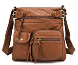 Scarleton Accent Top Belt Crossbody Bag H183304 - Cognac