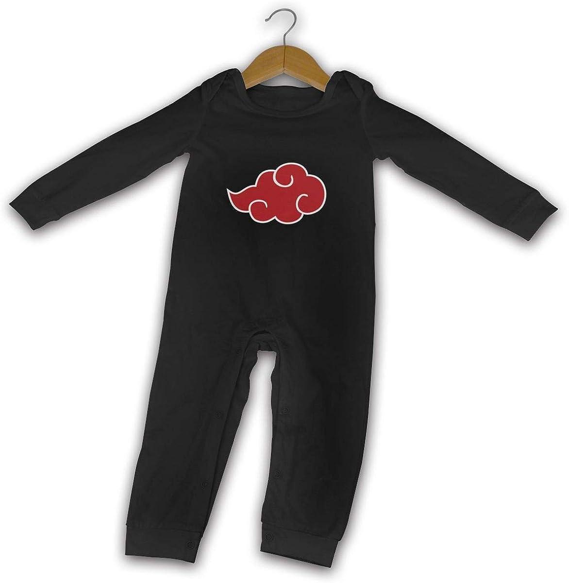 GongCZL Designed Naruto Sign T Shirts for Baby Boys Girls Black