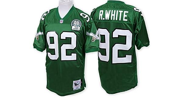 a4e7a6863 Amazon.com   Reggie White Philadelphia Eagles Mitchell   Ness Authentic 1992  Green NFL Jersey   Sports   Outdoors