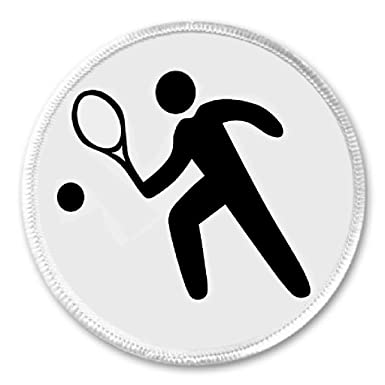 Amazon.com: Raqueta de tenis squash Player Symbol Sign 3 ...
