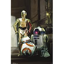 Trends International RP13967 Star Wars The Force Awakens Droids Wall Poster