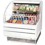 Turbo Air TOM-30L 30 Low Profile Open Display Merchandiser