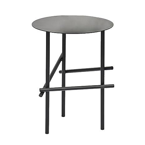 Amazon.com: GAIXIA - Mesa auxiliar minimalista de hierro ...