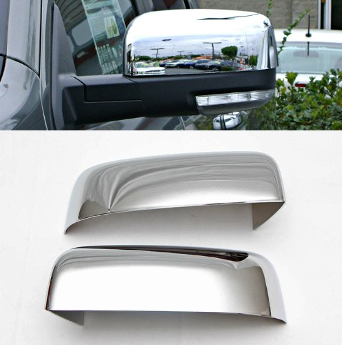 MaxMate Fits 09-13 Dodge Ram 1500//10-13 Ram 2500//3500 Upper Half Mirror Cover