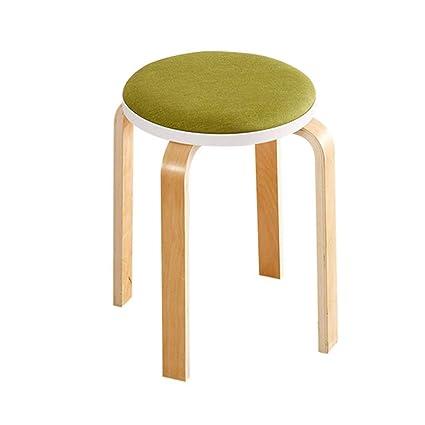 Swell Amazon Com Qqxx Footstools Stool Kitchen Dining Chair Round Creativecarmelina Interior Chair Design Creativecarmelinacom