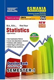 Buy Study Material Notes On Bsc Statistics General Year I With