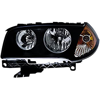 HELLA 010166031 BMW X3 E83 Driver Side Headlight Assembly