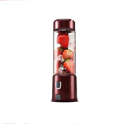 GG-Juicer Exprimidor portátil de Jugo Mini Taza de Carga en casa pequeña máquina automática