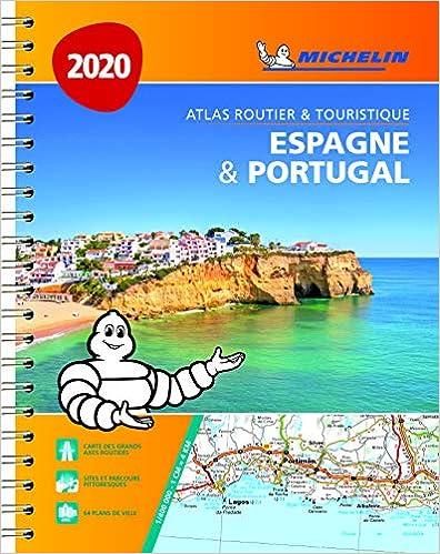 Atlas Espagne & Portugal Michelin