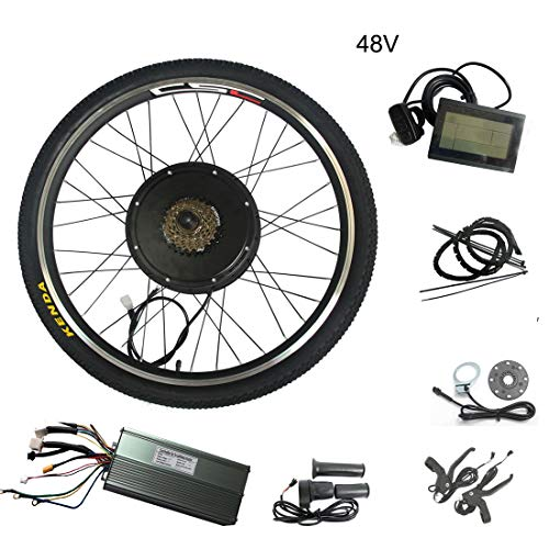 20 Inch 36V 250W-Electric Bicycle Battery Electric Bicycle Conversion Kit Motor Wheel Ebike E Bicycle (Electric Bike Kit 250w)