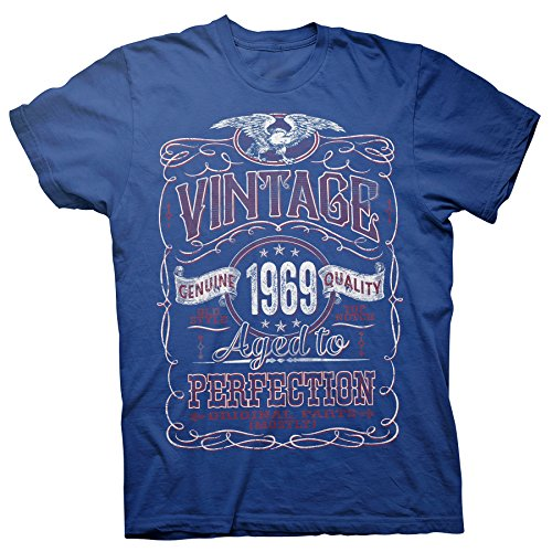 50th Birthday Gift Shirt - Vintage Aged to Perfection 1969 - ()