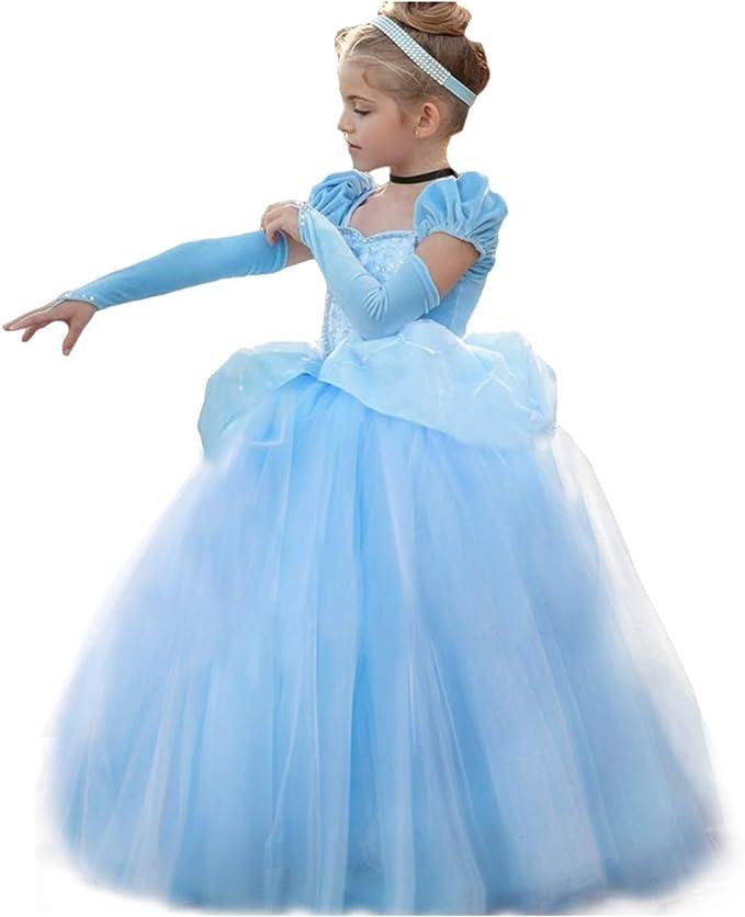 Disfraz de princesa de Cenicienta para Halloween o carnaval ...