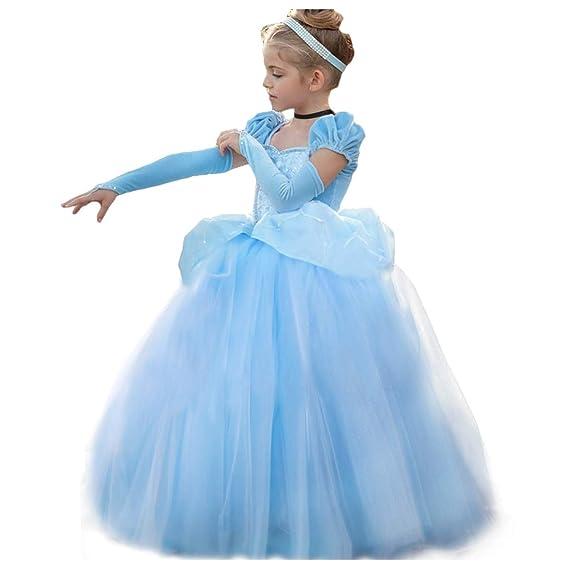 CQDY Disfraz de Princesa de Cenicienta para Halloween