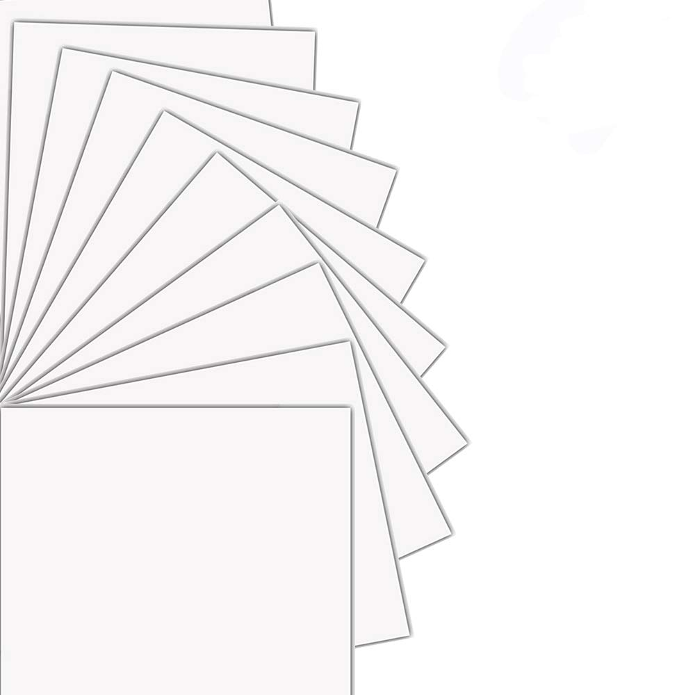 Printable Heat Transfer Vinyl HTV Inkjet Printer Dark T-Shirts Transfer, A4 Size Bundle 20 Sheets by HTV Pie