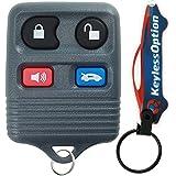 KeylessOption Keyless Entry Remote Control Car Key Fob Replacement for CWTWB1U343, CWTWB1U313