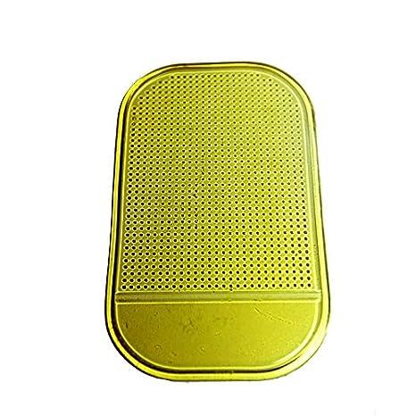 cdet antiscivolo tappetino silicone Auto Anti Slip Non Appiccicoso Tappetino da Cruscotto 12.8*6.8 CM riutilizzabile smontabile lavabile Rose riciclabile e rispettoso dell ambiente Silicone