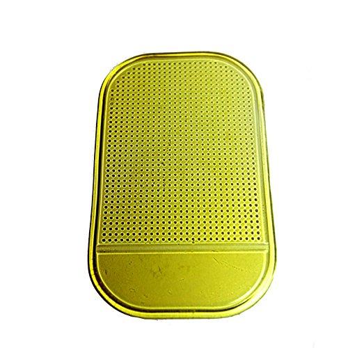 Da.Wa Halterung Anti Rutsch Matte//Antirutschmatte Klebematte-Autohalterung-Anti Slip Pad Silicone Cushion fur Phone,GPS,13 7cm