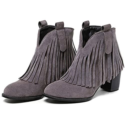 079133928304a 30%OFF Summerwhisper Women's Sexy Faux Suede Fringes Pointed Toe ...