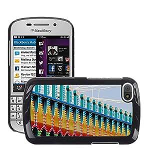 Print Motif Coque de protection Case Cover // M00154052 Se enciende Patrón año justo de mercado // BlackBerry Q10