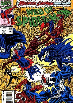 Web of Spider-Man #102 July 1993 Maximum Carnage Part 6 of 14 -
