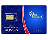 OneSimCard World Cup Russia 2018 COMBO SIM Card includes 1000 MB of data, 100 outgoing SMS texts and 100 minutes of outgoing calls in Russia. Use the SIM card after the World Cup in 200+ Countries.