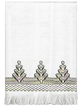 Nordic Needle Spring Windbreak Huck Weaving Embroidery Towel Kit