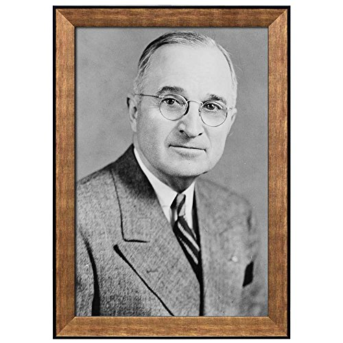 Portrait of Harry S Truman (33th President of the United States) American Presidents Series Framed Art Print