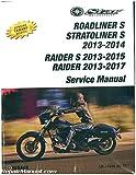 LIT-11616-26-33 2013-2017 Yamaha Raider S/ Stratoliner S Roadliner S 1900 Motorcycle Service Manual
