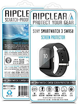 Amazon.com: RIPCLEAR Sony SmartWatch 3 SWR50 Smartwatch ...