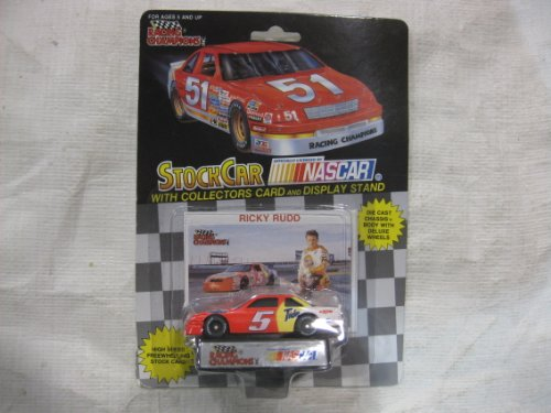 NASCAR #5 Ricky Rudd Tide / Exxon Racing Team Stock Car With Driver