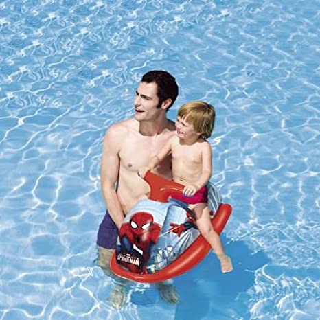 Moto de agua hinchable 89 x 46 cm Spiderman Playa Piscina Idea regalo bes273: Amazon.es: Hogar