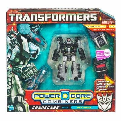 Transformers Combiners 5PK - Crankcase with Destrons by Transformers