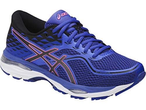 ASICS Womens Gel-Cumulus 19 Running Shoe, Blue Purple/Black/Flash Coral, 7 D US