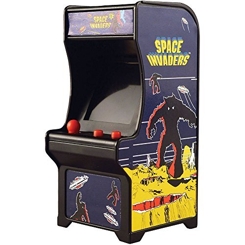Super Impulse Space Invaders Classic Tiny Arcade Game Palm Size w/ Authentic Sounds