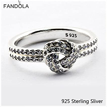 f5a3b29c023c2 Amazon.com: Rings 925 Sterling Silver Compatible With Pandora ...