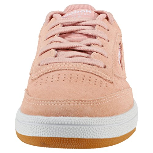 Peach C Mujer Basic para Reebok Twist Multicolor de Zapatillas Club 3 Gum White 000 85 Deporte Premim 7FF50q