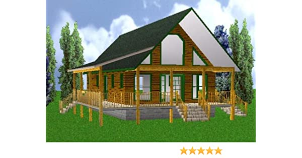 Amazon.com: 24x40 Country Classic 3 Bedroom 2 Bath Plans Package ...