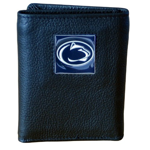 Penn St. Nittany Lions Genuine Leather Tri-fold Wallet