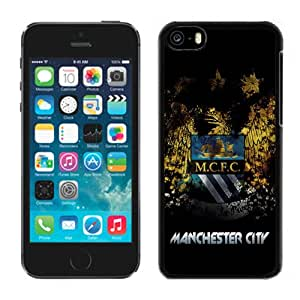 Unique DIY Designed Case For iPhone 5C With Soccer Club Manchester City 07 Football Logo Cell Phone Case