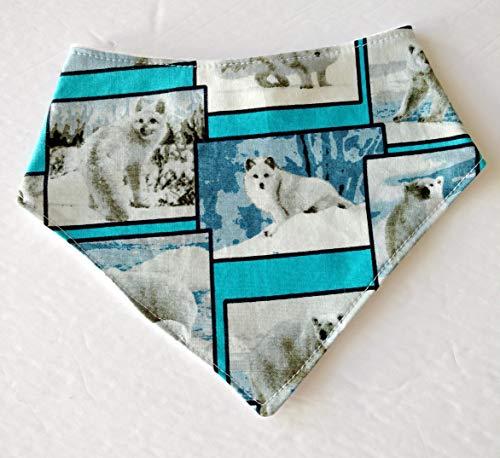 Arctic Animals Fox Bandana Bib