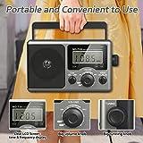 Greadio Portable Shortwave Radio,AM FM Transistor