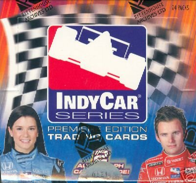 2007 Rittenhouse Indy Racing Cards Unopened Hobby Box (Racing Cards Hobby Box)