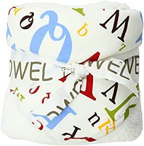 Amazon Com Trend Lab Dr Seuss Abc Hooded Towel Hooded