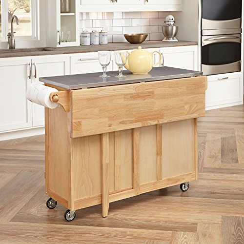 Home Styles 5086 95 Stainless Steel Top Kitchen Cart With