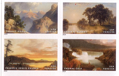 Hudson River School Forever Stamps Booklet of 20 by USPS